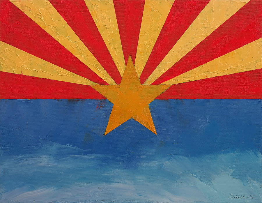 Art Painting - Arizona by Michael Creese