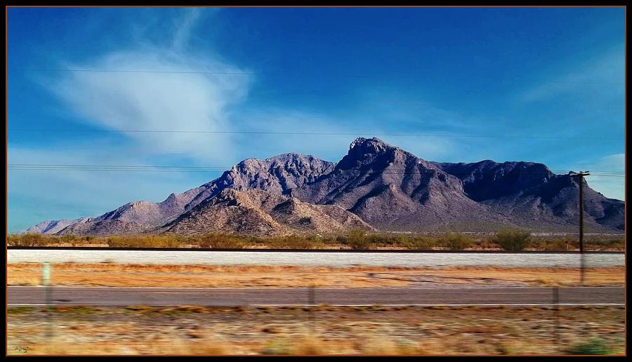 Arizona - On The Fly Photograph