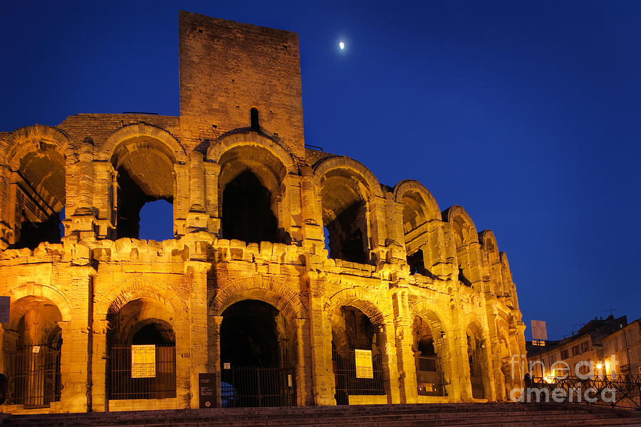 Arles Photograph - Arles Roman Arena by Inge Johnsson