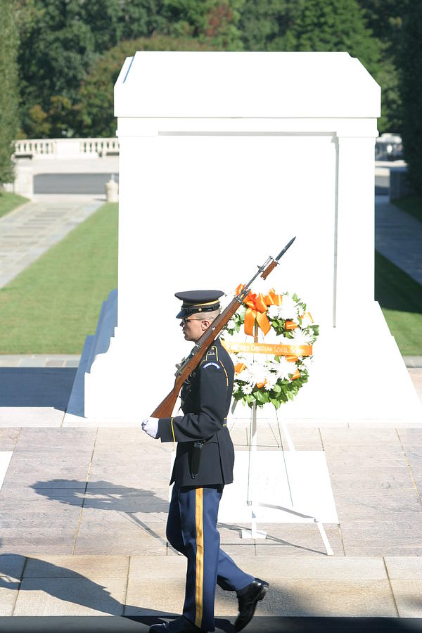 Arlington National Cemetery - Tomb Of The Unknown Soldier - 121214 Photograph