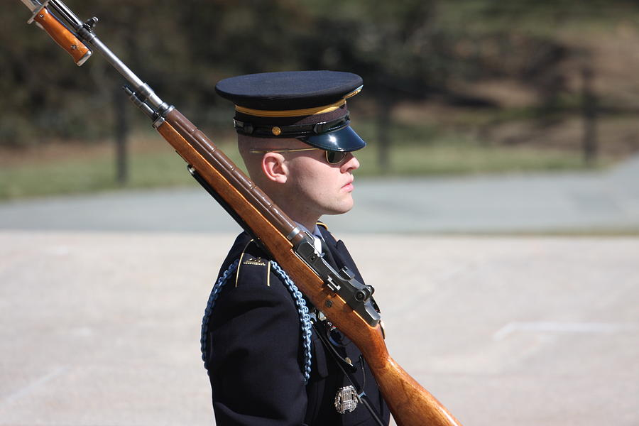 Arlington National Cemetery - Tomb Of The Unknown Soldier - 121219 Photograph