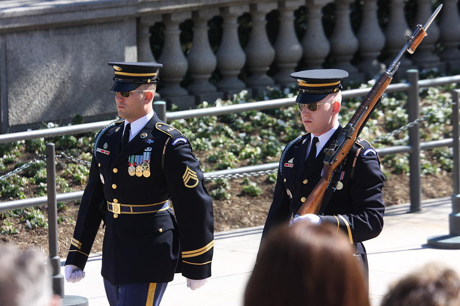 Arlington National Cemetery - Tomb Of The Unknown Soldier - 121223 Photograph