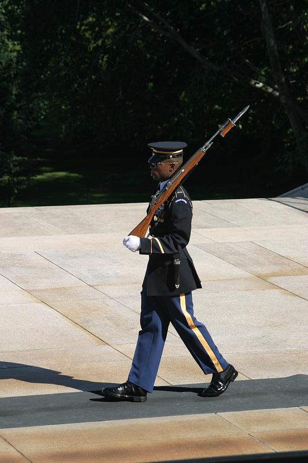 Arlington National Cemetery - Tomb Of The Unknown Soldier - 12124 Photograph