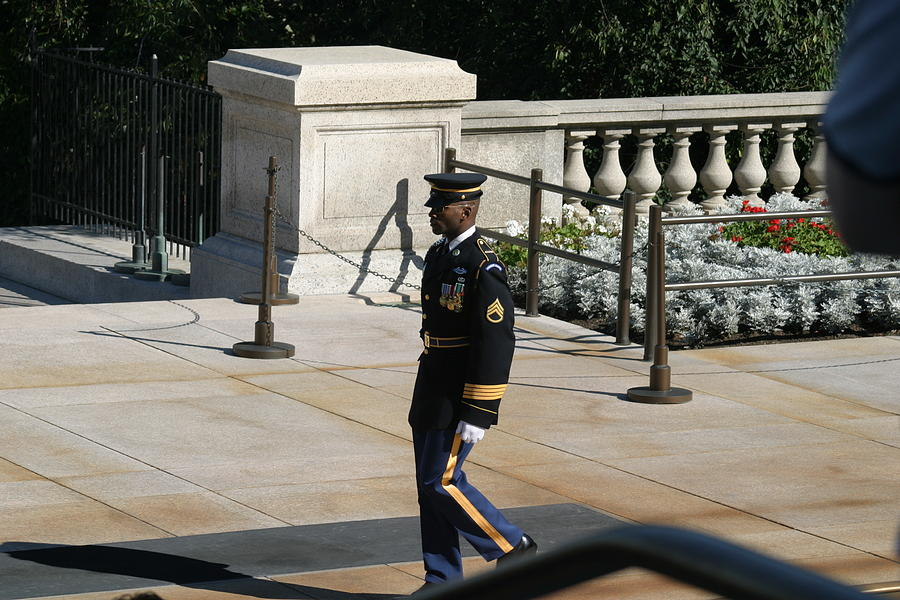 Arlington National Cemetery - Tomb Of The Unknown Soldier - 12125 Photograph