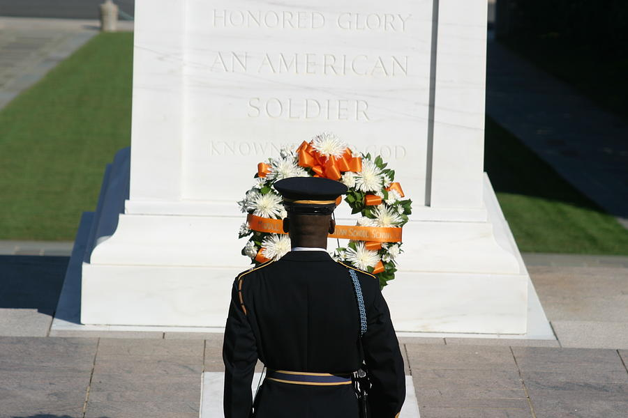Arlington National Cemetery - Tomb Of The Unknown Soldier - 12128 Photograph