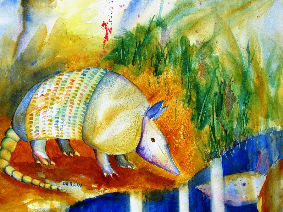 Armadillo Reflections Painting