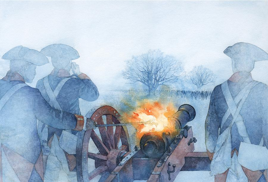 Armed Rebellion Painting