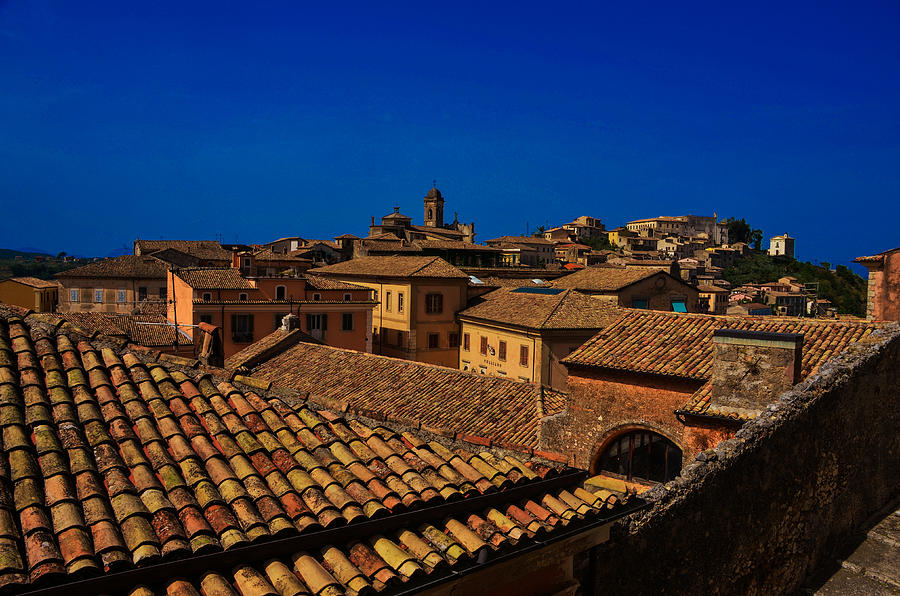 Arpino Roofscape Photograph