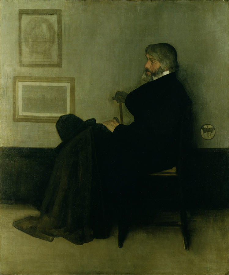 arrangement in black no 5 lady James abbott mcneill whistler, american 1834–1903, arrangement in grey and black no 1: portrait of the artist's mother, 1871, oil on canvas, 1443 x 1625 cm.