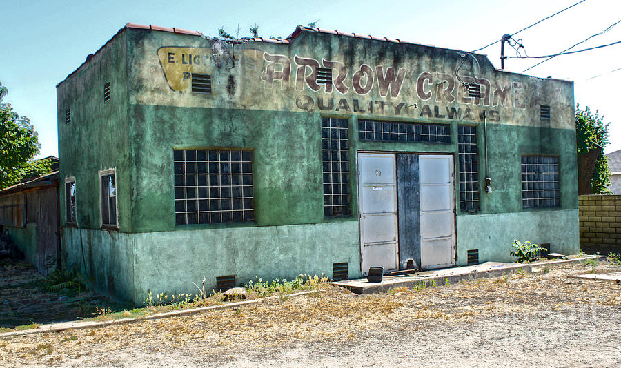 Arrow Creamery - Chino Ca - 02 Photograph  - Arrow Creamery - Chino Ca - 02 Fine Art Print