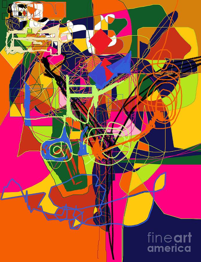 Torah Digital Art - Art And Writing 2 by David Baruch Wolk