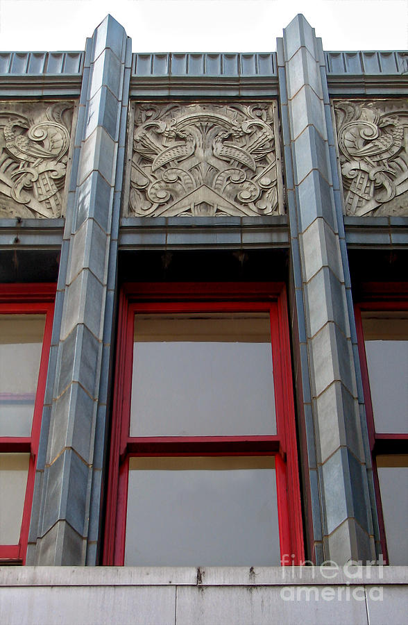 Art Deco Architectural Detail Photograph  - Art Deco Architectural Detail Fine Art Print