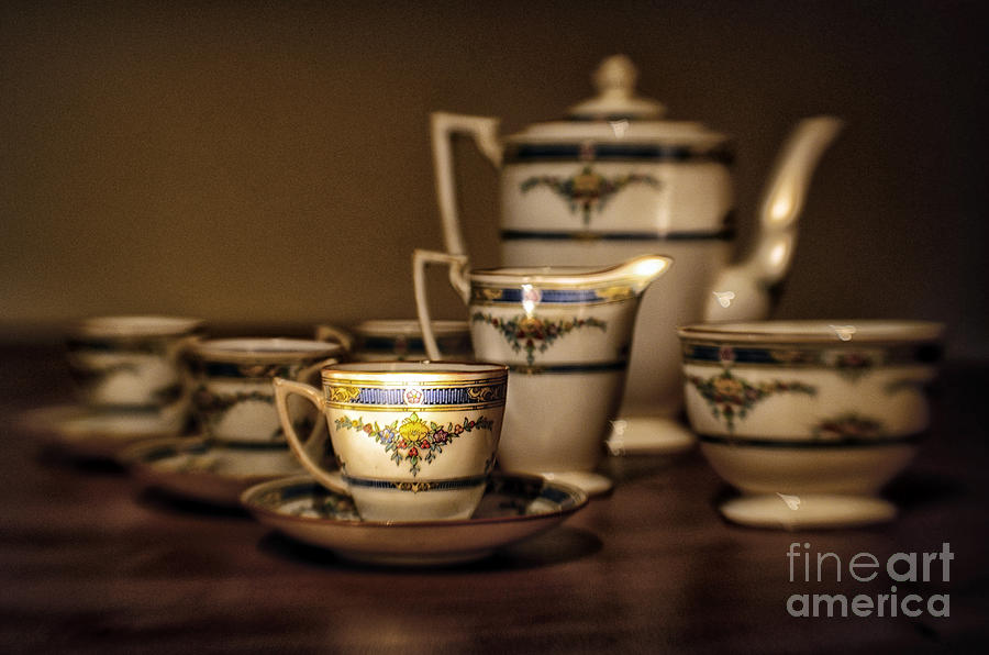 Art Deco Coffee Set Photograph