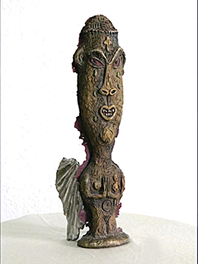 Art In Metal Praying Hands Sculpture