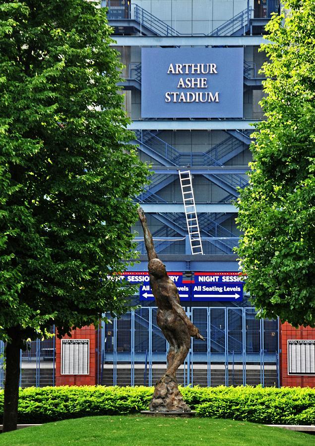 Arthur Ashe Stadium Photograph