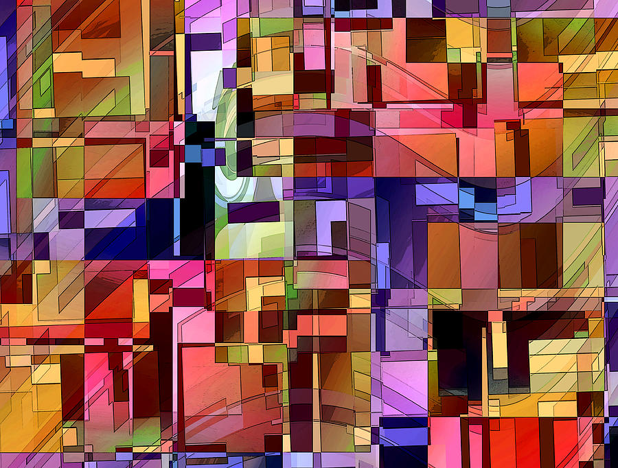 Artificial Boundaries Digital Art