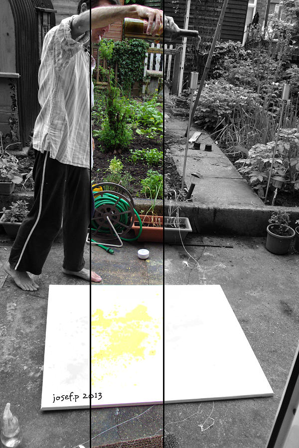 Artist At Work Three Photograph