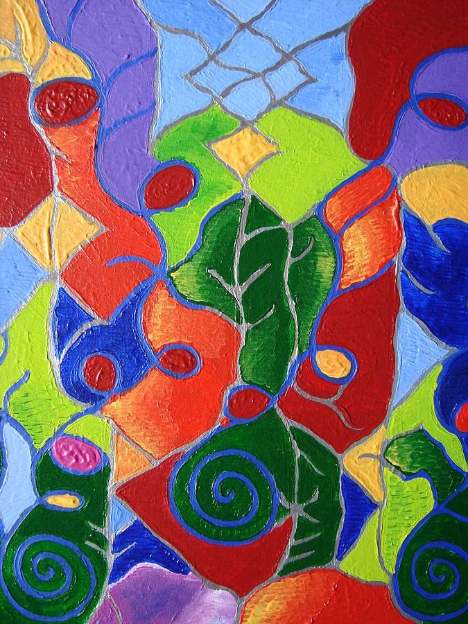 Symbol Painting - Artistic Acomplishments by Joanna Pilatowicz