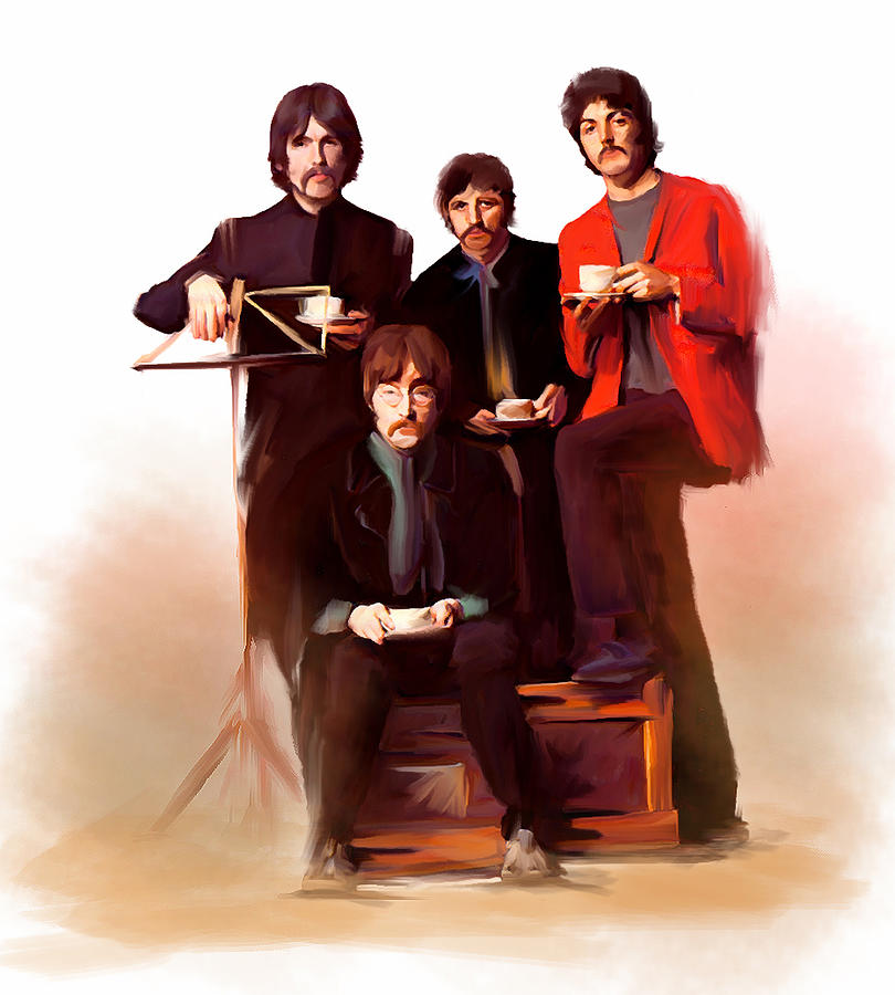 Artistic Masters The Beatles  Painting