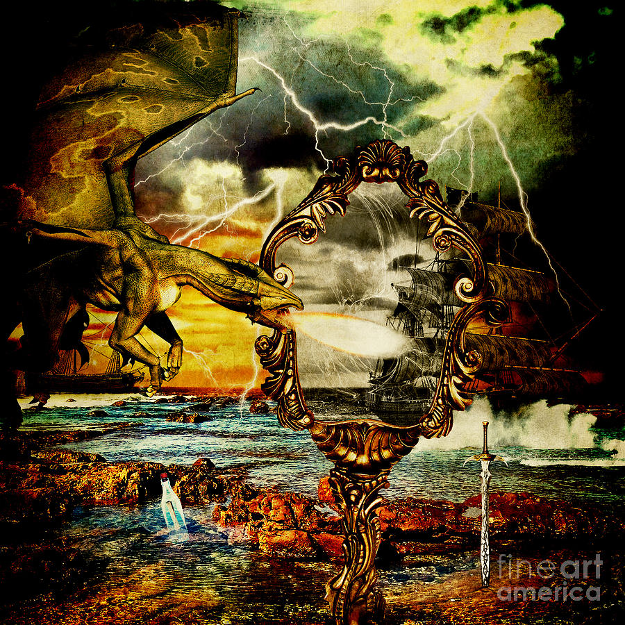 Artwork Untitled No.41 Digital Art  - Artwork Untitled No.41 Fine Art Print