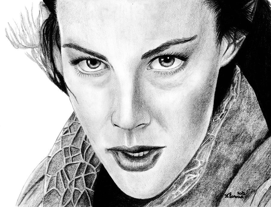 Arwen Undomiel Drawing