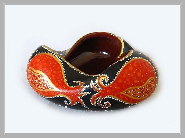 Ceramic  Ceramic Art - Ash-pot by Alexsandr Lovchikov