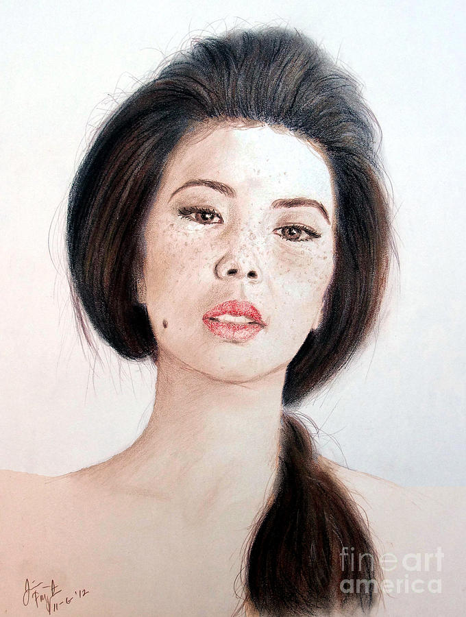 Download this Asian Beauty Drawing picture