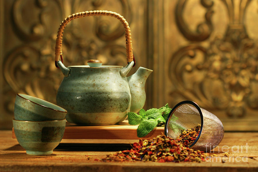Asian Herb Tea Photograph