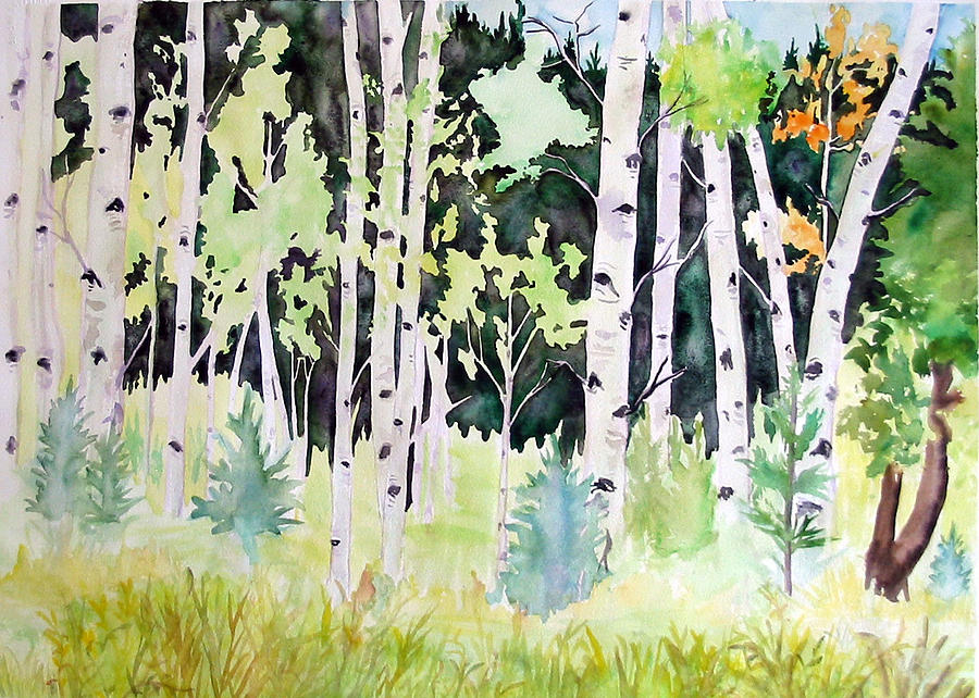 Aspen Painting 