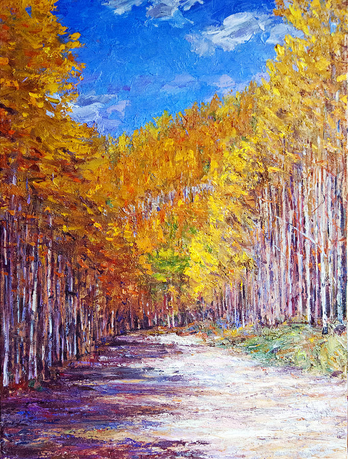 Aspen Glory Painting