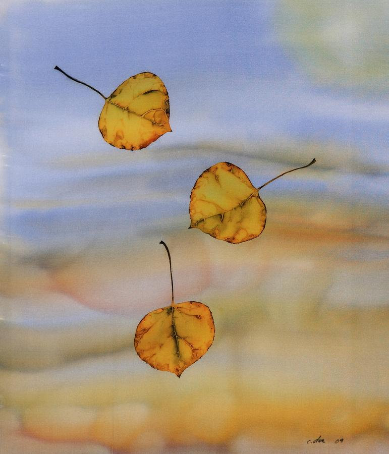 Aspen In Fall Tapestry - Textile  - Aspen In Fall Fine Art Print