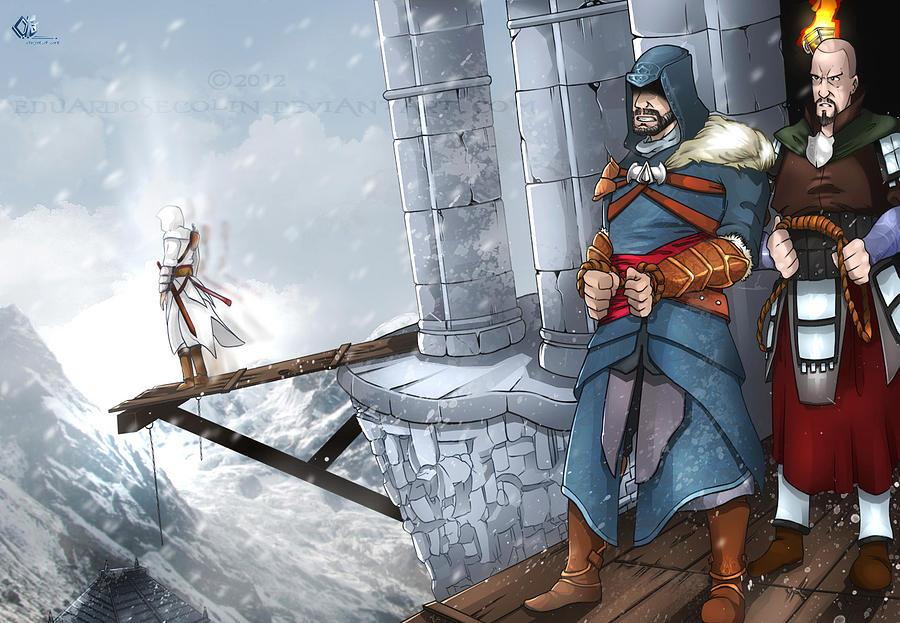 Assassins Creed Digital Art - Assassins Creed Revelations by Eduardosecolin