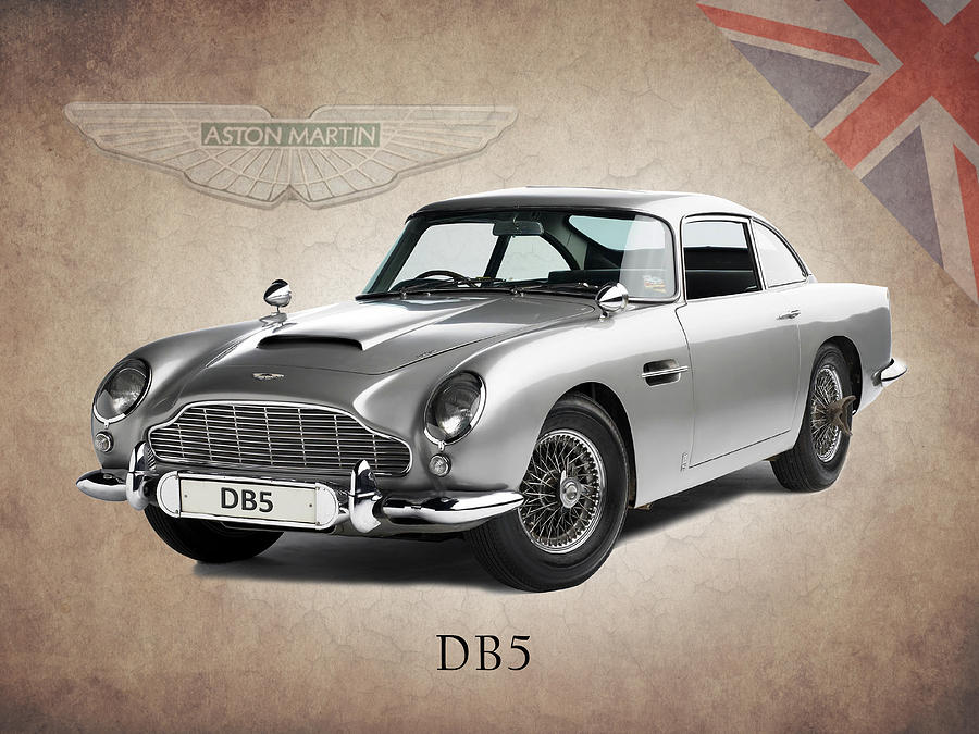 Aston Martin Db5 Photograph