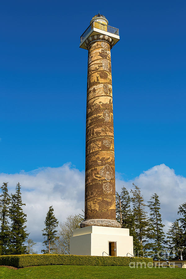 Astoria Column Photograph  - Astoria Column Fine Art Print