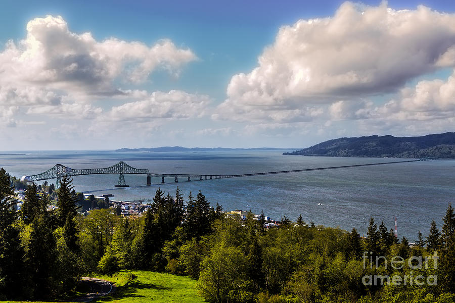 Astoria - Megler Bridge Photograph