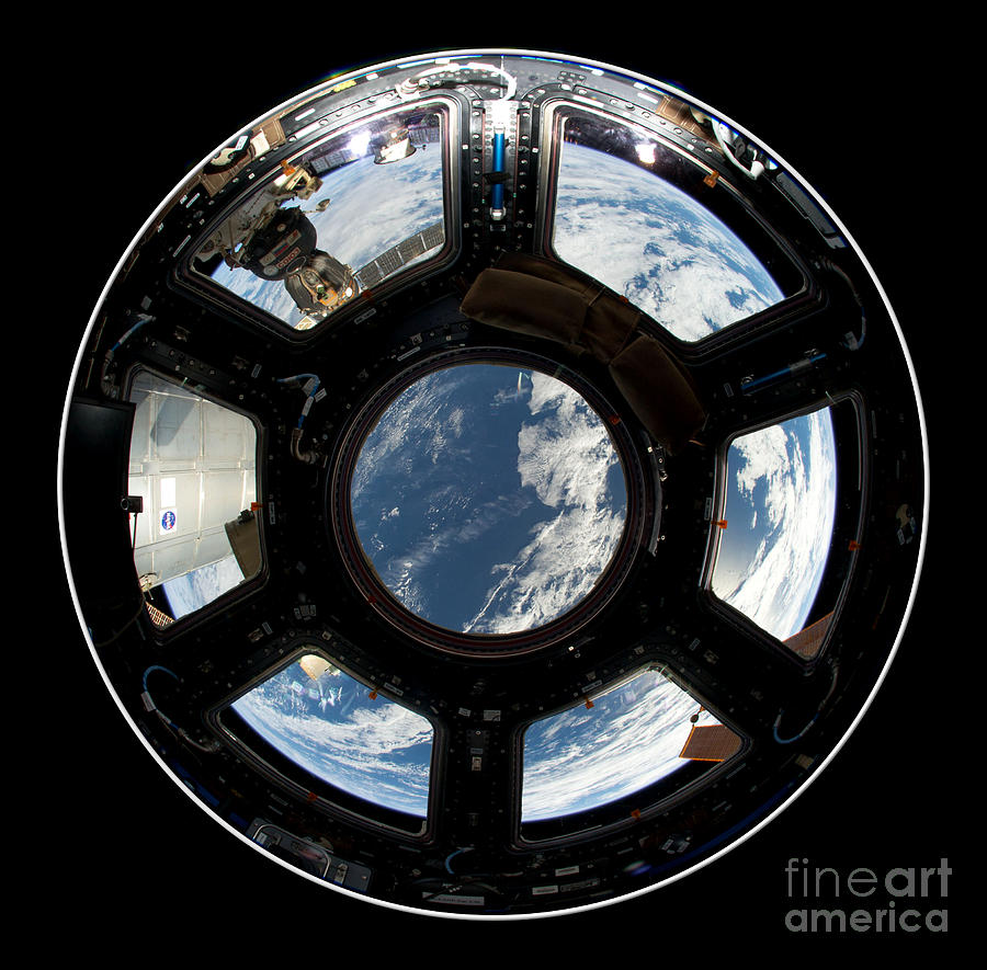 Astronauts View From The Space Station Photograph by Rose ...