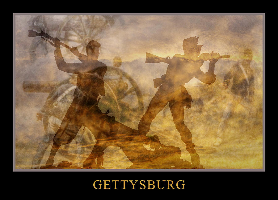 At A Place Called Gettysburg Poster Digital Art  - At A Place Called Gettysburg Poster Fine Art Print