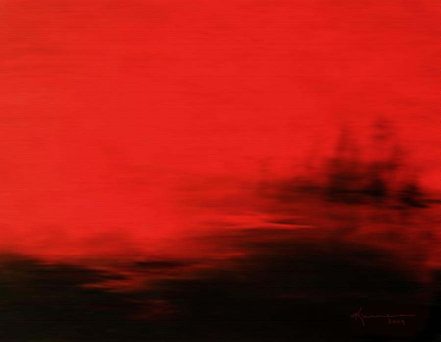 At Dusk Mixed Media  - At Dusk Fine Art Print