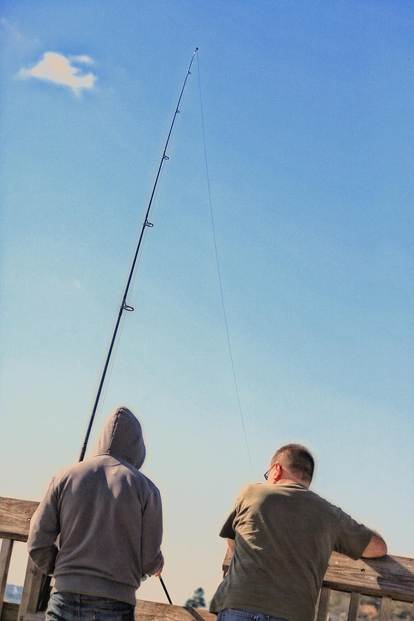 At Fishing Photograph  - At Fishing Fine Art Print