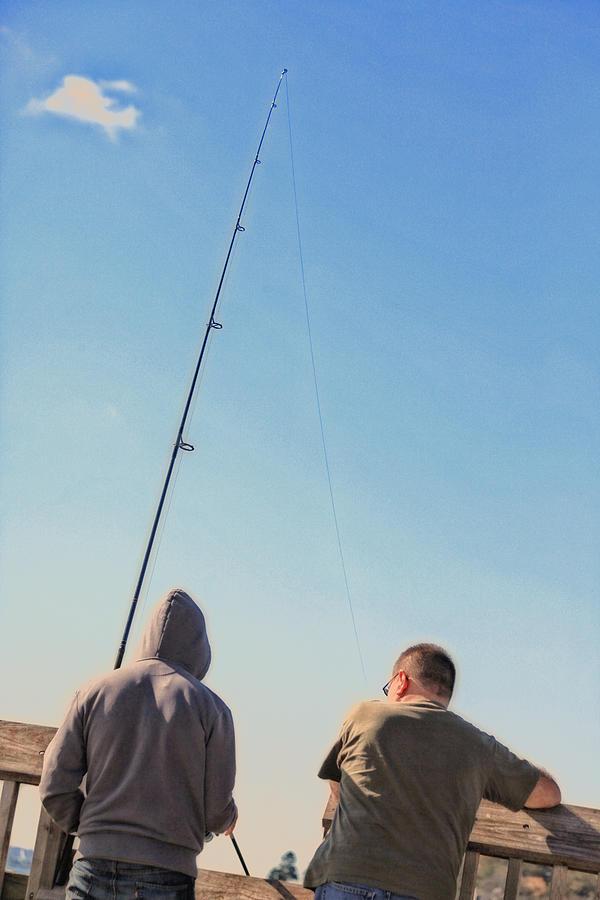Fishing Photograph - At Fishing by Karol Livote