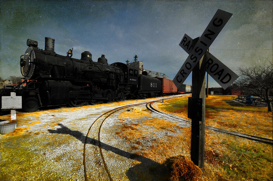 Atchison Kansas Rails Photograph
