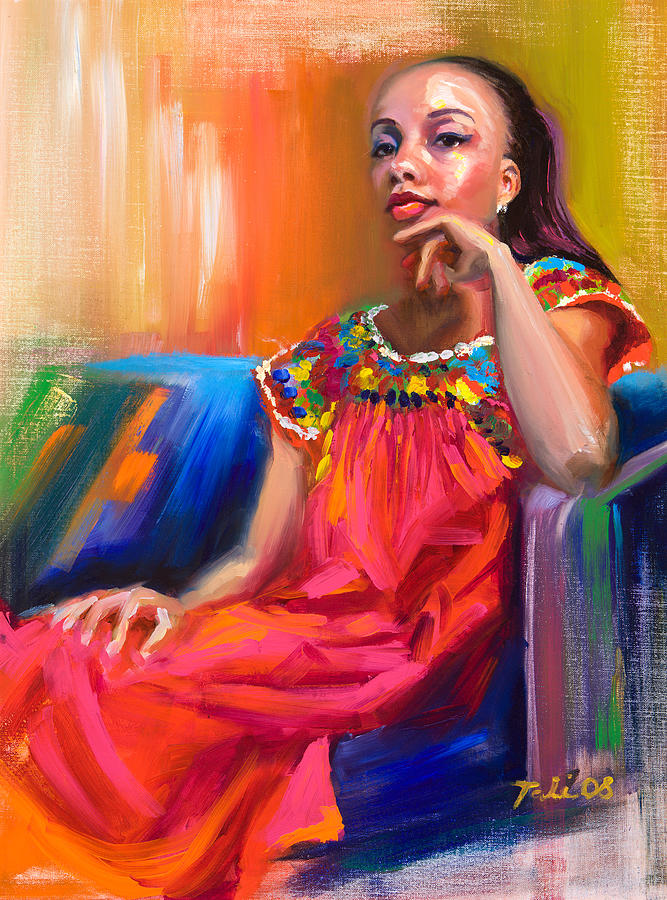 Athena Painting