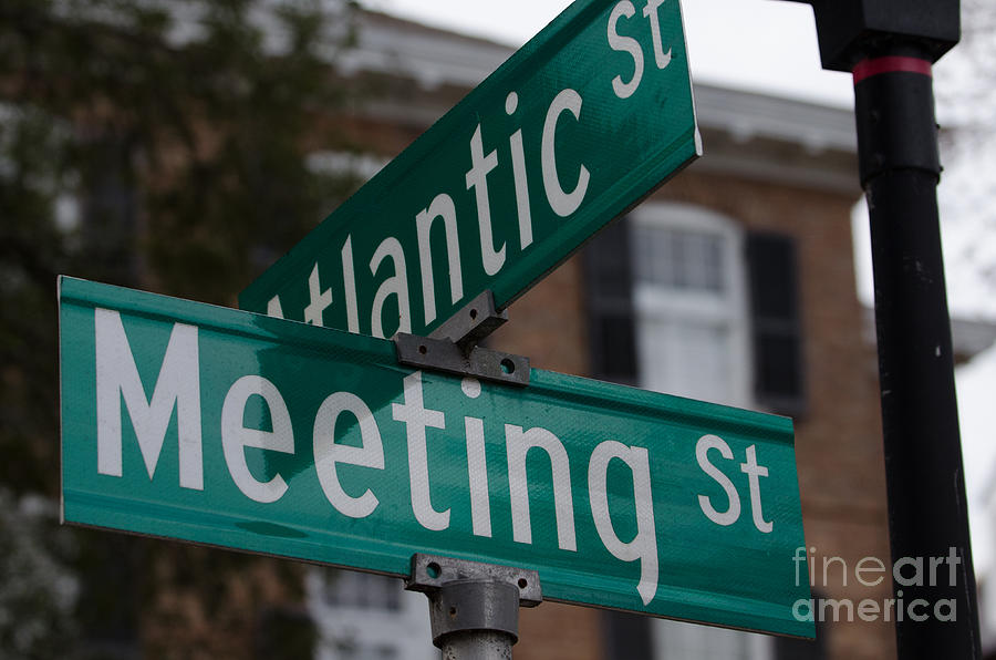 Atlantic And Meeting St Photograph
