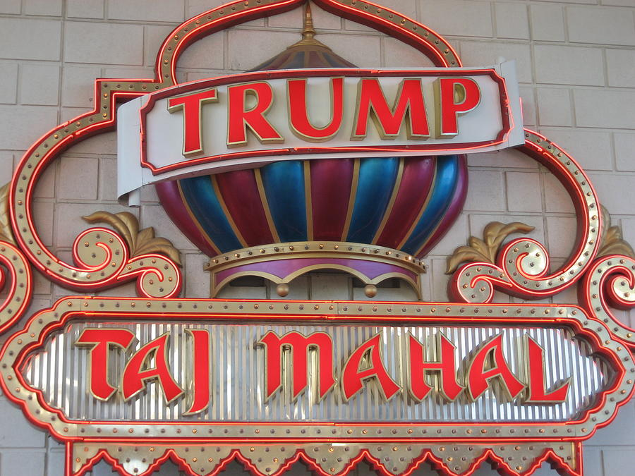 Atlantic City - Trump Taj Mahal Casino - 12121 Photograph  - Atlantic City - Trump Taj Mahal Casino - 12121 Fine Art Print