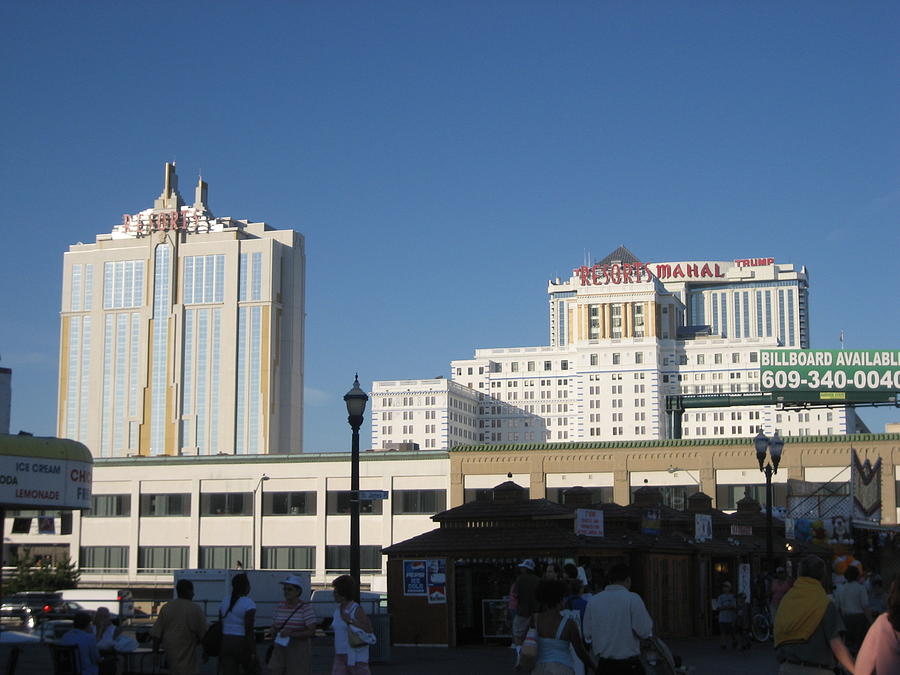 Atlantic City - Trump Taj Mahal Casino - 12123 Photograph  - Atlantic City - Trump Taj Mahal Casino - 12123 Fine Art Print