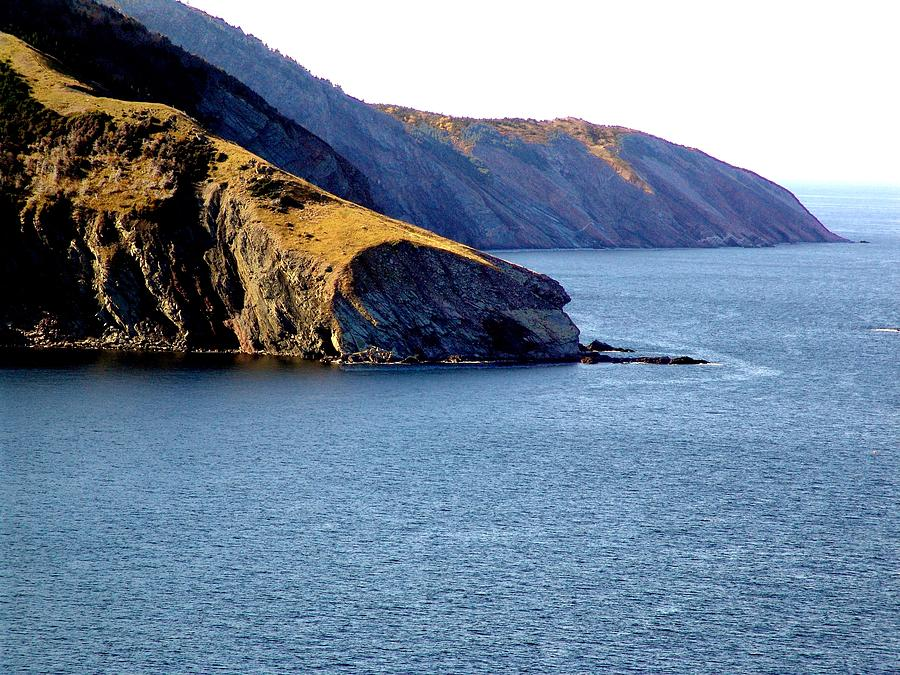 George Photograph - Atlantic Headlands by George Cousins