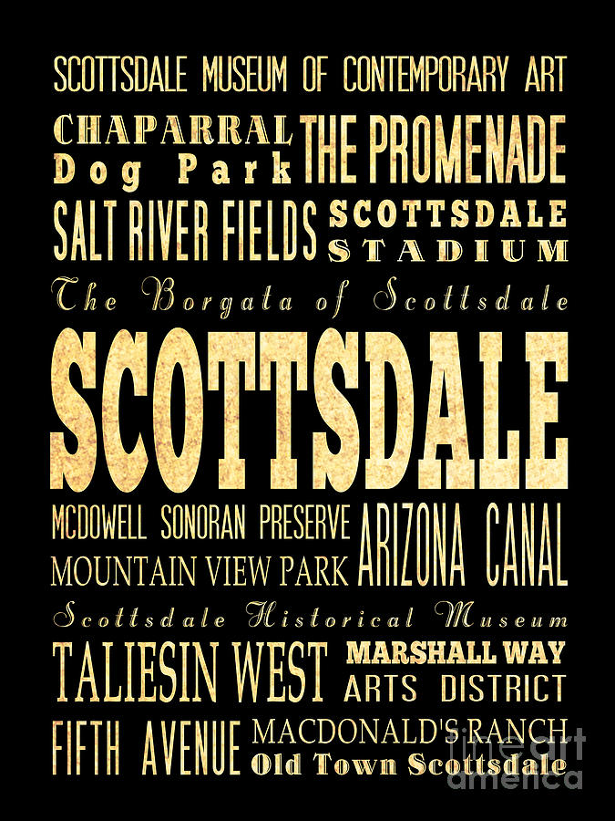 Attraction And Famous Places Of Scottsdale Georgia Digital Art