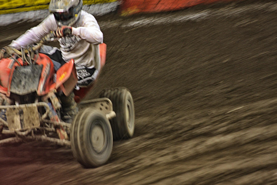 Atv Speed Photograph  - Atv Speed Fine Art Print