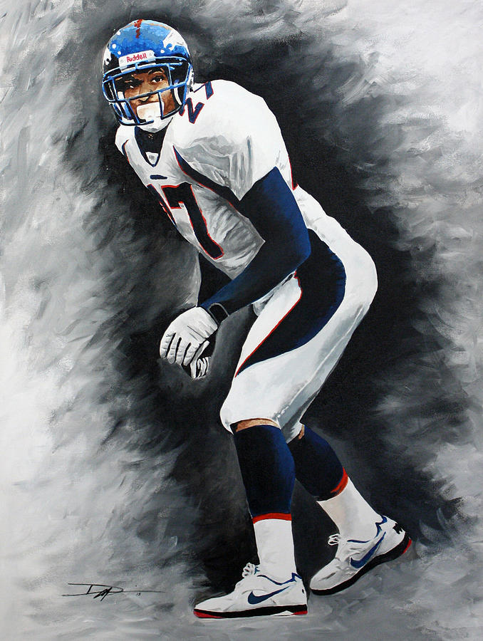 Steve Atwater Drawing - Atwater  by Don Medina