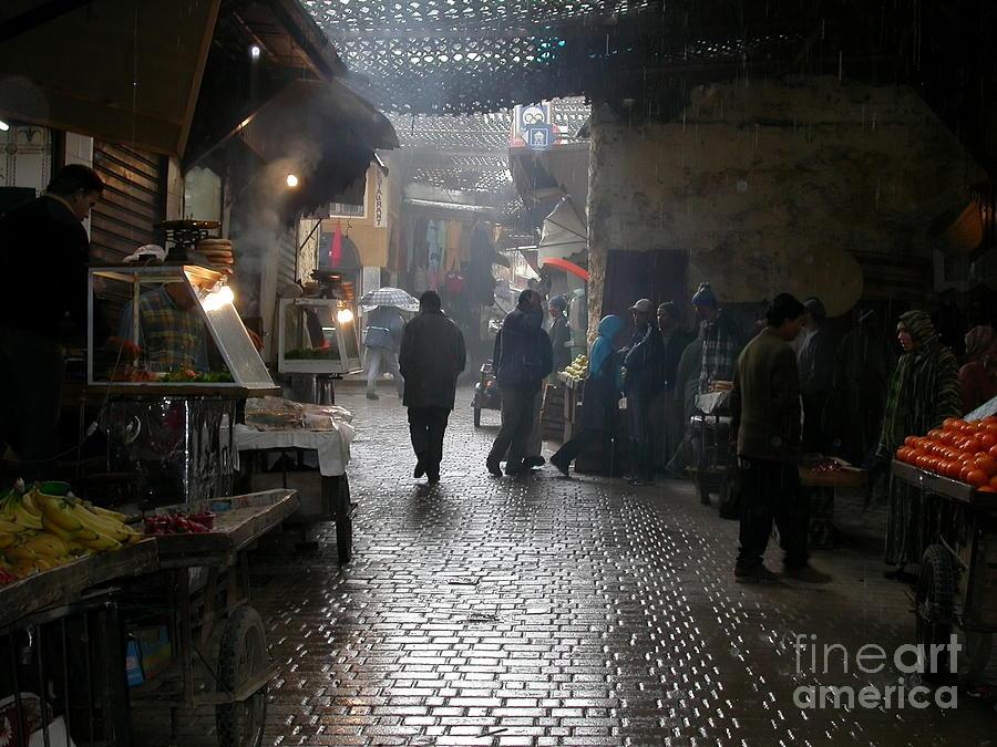 Marrakech Photograph - Au Souk by Sophie Vigneault